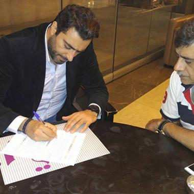 باسم ياخور يوقع على عمل جديد