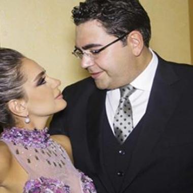 ديما قندلفت .. آخر رومانسية مع زوجها الوزير