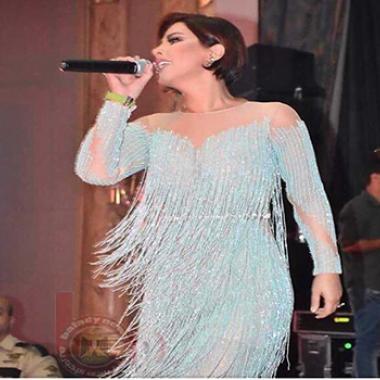 بالفيديو: شمس وفيفي عبده تشعلان ليل القاهرة