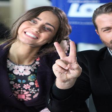 """ثنائي الرومانسية يوسف الخال وإيميه صياح """"سوا""""على الشاشة"""