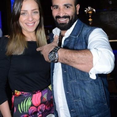 ريم البارودي واحمد سعد زوجان لشهر واحد