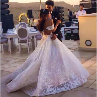صور من زفاف كارمن سليمان