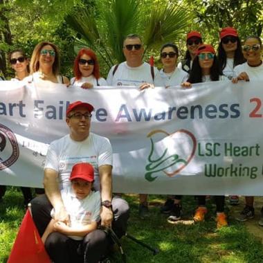 Hike for Heart Failure مع LSC في محمية معاصر الشوف