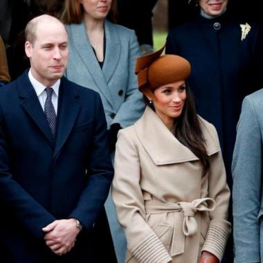 بالصور: الميلاد الأول لميغان ماركل مع العائلة المالكة