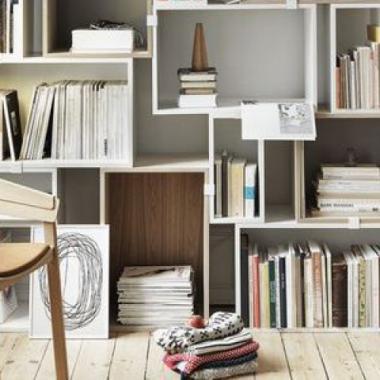 عشرون صورة من Pinterest لتستلهمي مكتبة تناسب منزلك!