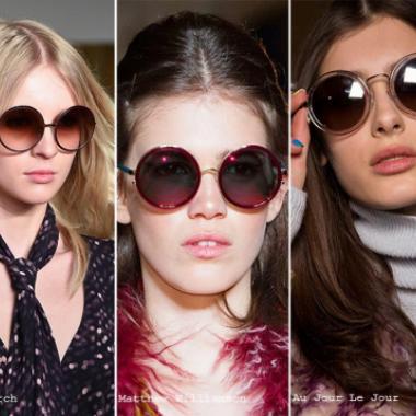 تعرفي على موضة النظارات الشمسية لموسم ربيع وصيف 2016