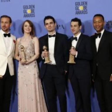 "سبع جوائز غولدن غلوب لفيلم ""لالا لاند"""