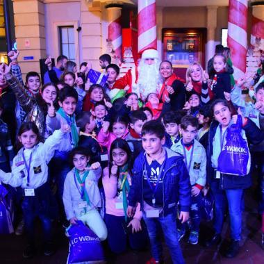 KidzMondo تحتفل بالأعياد مع أطفال Paroisse Saint Georges Rmeil