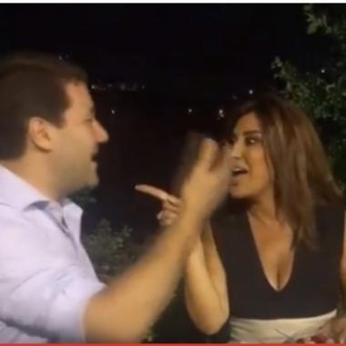 بالفيديو: ديو غنائي بين نجوى كرم ونديم الجميل