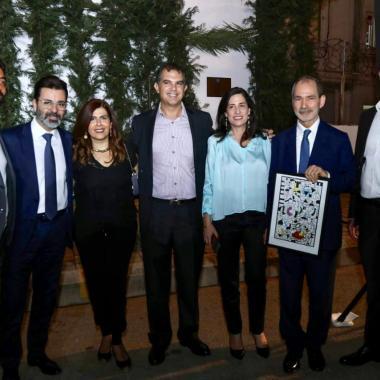 """بنك بيمو يزيح الستارة عن """"ميلا"""" لوحة جدارية ضخمة تأخذ اللبنانيين في """"رحلة"""" العمر"""