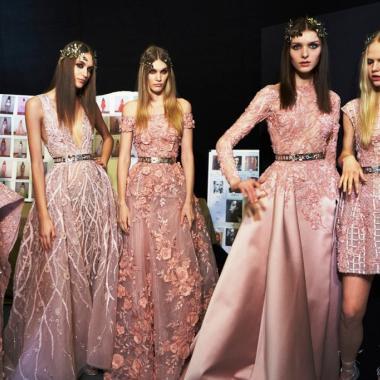 أحدث صيحات المصممين العرب في اسبوع الموضة في باريس