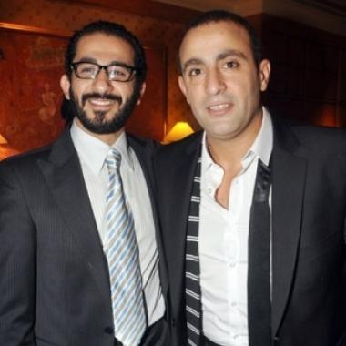 الصديقان أحمد حلمي وأحمد السقا معاً للمرة الأولى