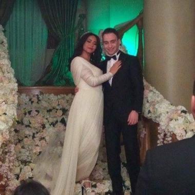 صور من زفاف شيرين عبد الوهاب وحسام حبيب