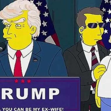 """كيف توقّعَ """"ذي سيمبسونز"""" فوز ترامب قبل ١٦عاماً؟"""