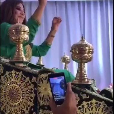 استقبال مميز لنجوى كرم في المغرب