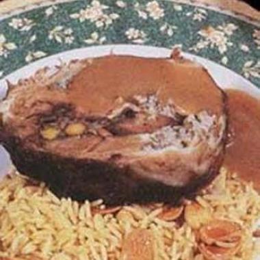 رقبة الخروف المحشية طبق يناسب العيد