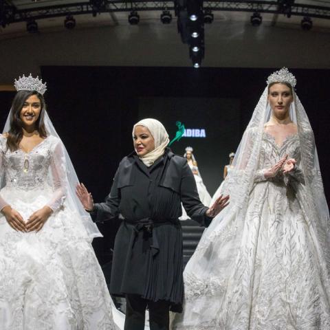 مجموعة Diamond للمصمّمة الكويتيّة أديبة المحبوب تخطف الأنظار في باريس