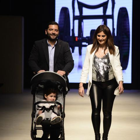 Le Bouquet تطلق عربة الأطفال Anex خلال Designers & Brands Beirut