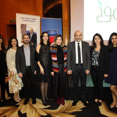 """برنامج """"طموح - سعد عبد اللطيف"""" اكثر من 3000 منحة لطلاب لبنان"""