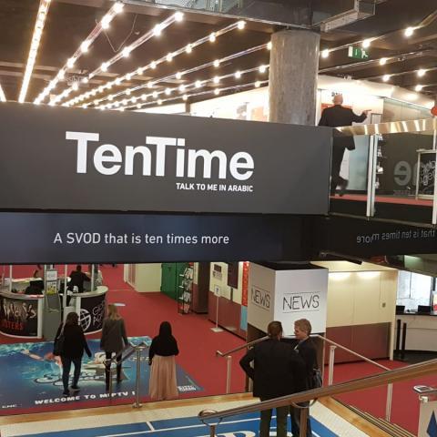 Ten Time تشارك في معرض MIPTV في مدينة كانّ الفرنسيّة