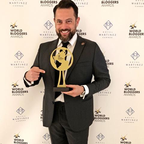 Brahms Chouity يرفع اسم لبنان عالياً محققاً فوزاً كبيراً في Cannes