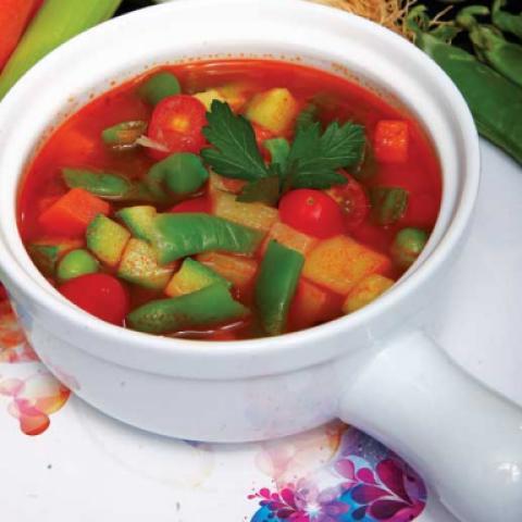 حساء الخضار