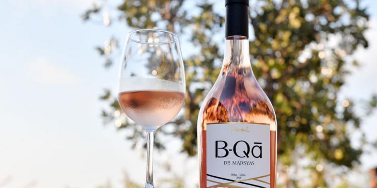إطلاق نبيذ Rosé B-Qā de Marsyas من Marsyas