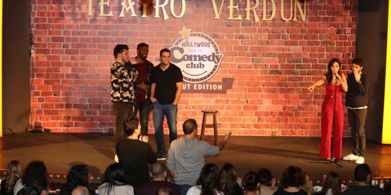 النسخة الثالثة من THE HOLLYWOOD POP UP COMEDY CLUB في TEATRO VERDUN