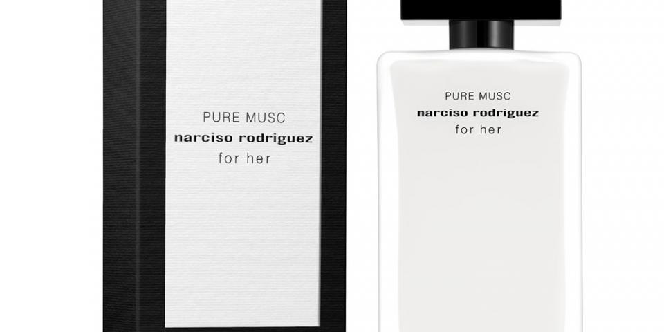 Narciso Rodriguez PURE MUSC العطر النسائي الجديد من مجموعة for her