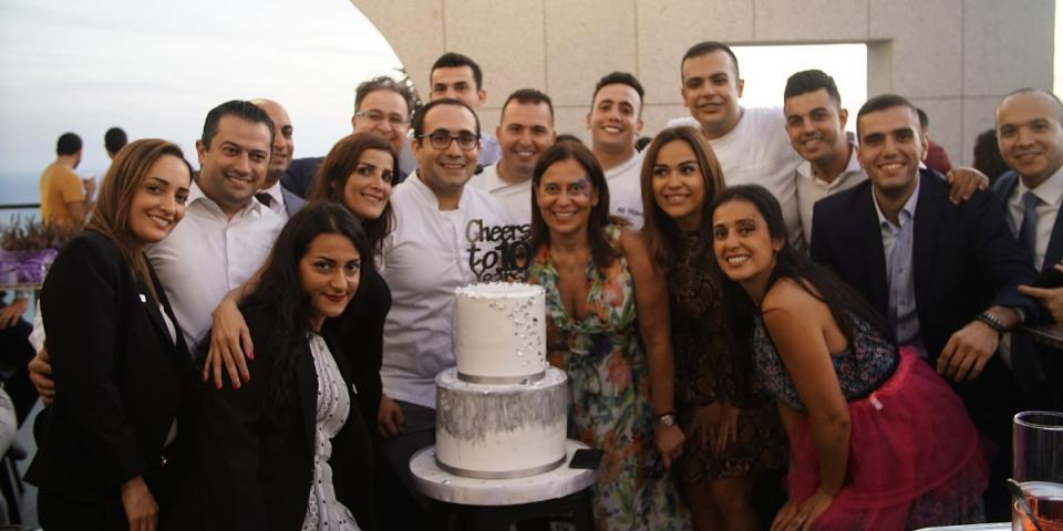 فندق الروشة أرجان من روتانا يحتفل بعشر سنوات زاخرة بالنجاح وخدمات الضيافة الفريدة