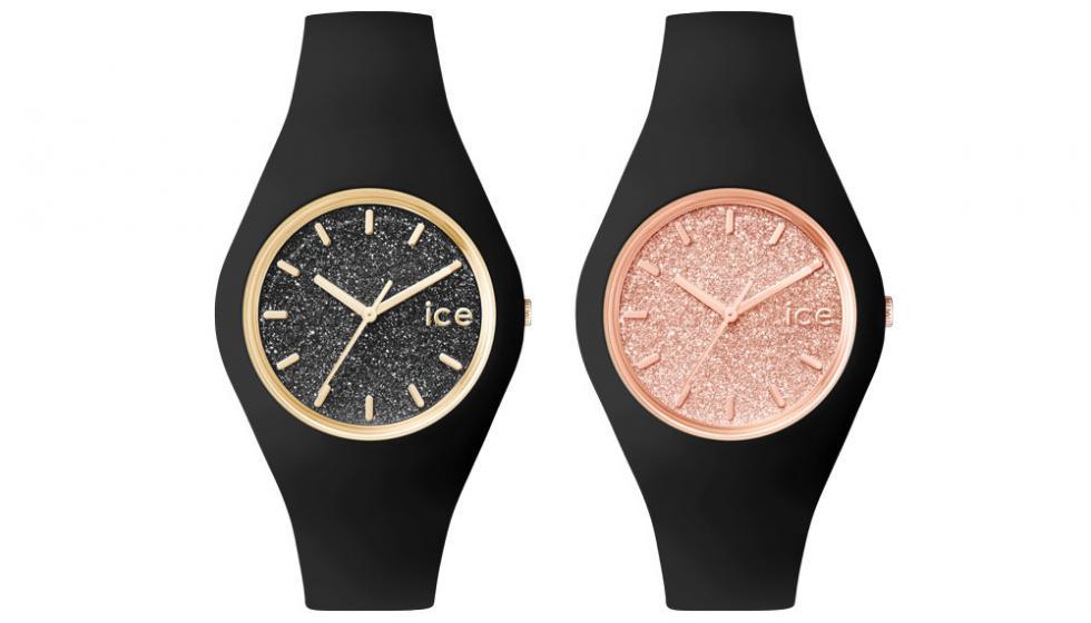 ساعات ICE glitter لأناقة ساطعة