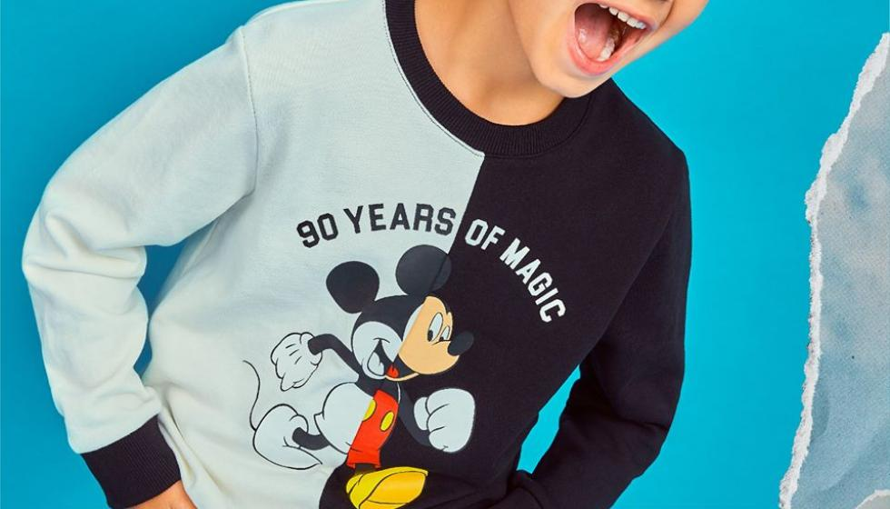 اطلاق مجموعة bossini X Mickey Mouse