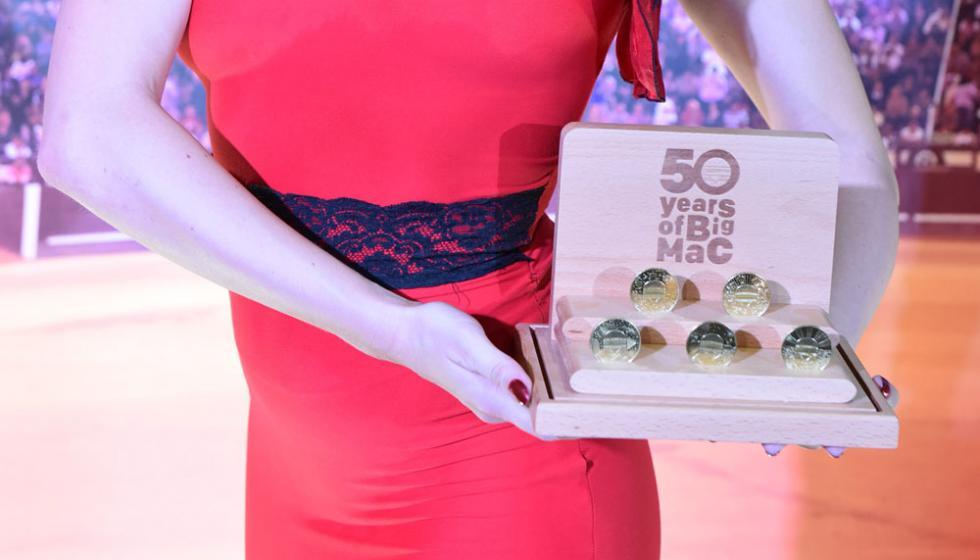 ماكدونالدز تحتفل بعيد بيغ ماك الـ50 وتصدر عملة MacCoin المحدود