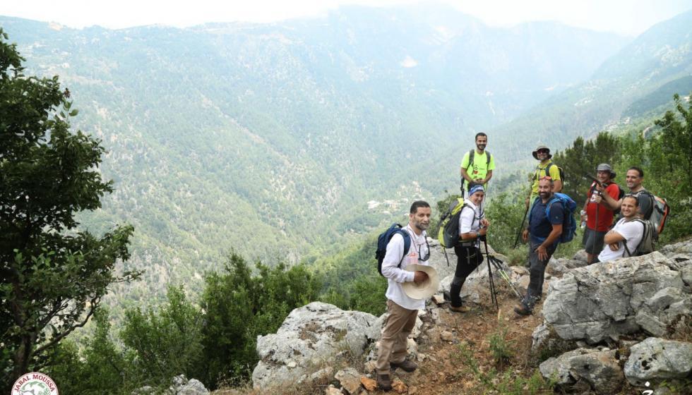 جمعية حماية جبل موسى تفتتِح الحلقة الكاملة للمسارات السياحيّة