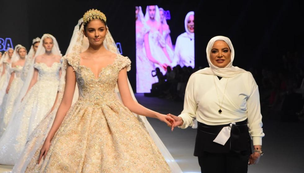 Oriental Fashion Show باريس يعرض ابداعات المصمّمة الكويتيّة أديبة المحبوب