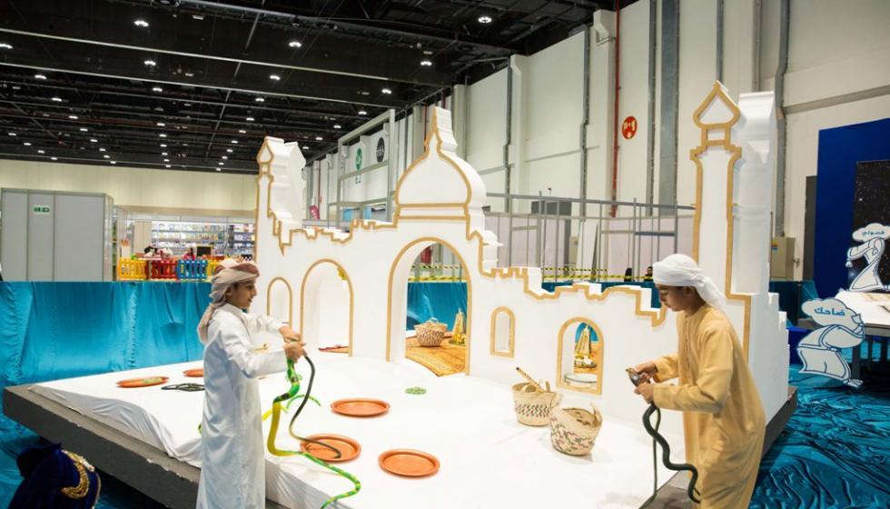 في معرض أبوظبي الدولي للكتاب: بحر الحكايا نظّم أنشطة في ركن الإبداع