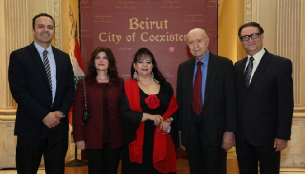 """لينا وهيلدا كيليكيان ومعرضهما """"بيروت مدينة التعايش"""""""