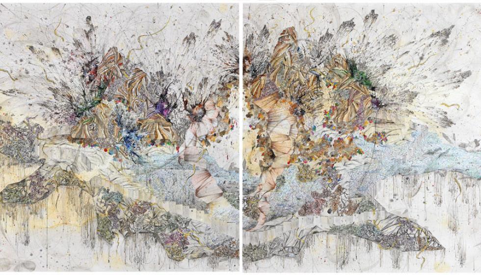 17 فنّاناً وفنّانة في مركز بيروت للمعارض «أرضُ القلب»: صقيع الهَجْر ودِفءُ البيت