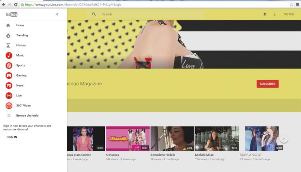 يوتيوب يختبر تصميماً جديداً