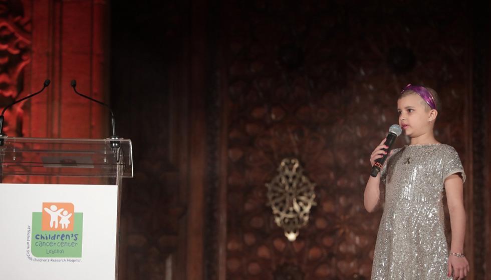 نورا جنبلاط في عشاء مركز سرطان الأطفال: هاجسنا الاستمرارية