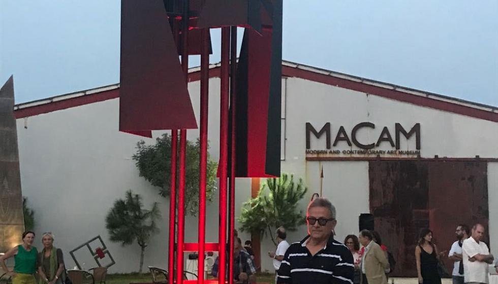 """منحوتة جديدة لبرنارد غانم في متحف """"مقام"""""""