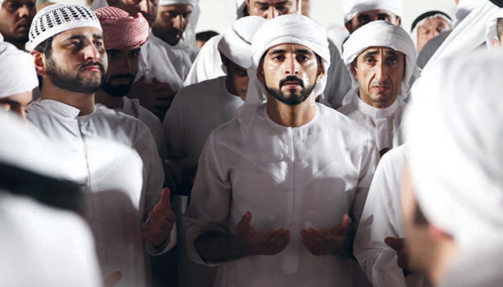 ضجّت مواقع التواصل برسالة الشيخ حمدان في الذكرى الأولى لوفاة شقيقه الأكبر
