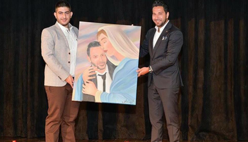 جائزة عصام بريدي في مدرسة سيدة اللويزة
