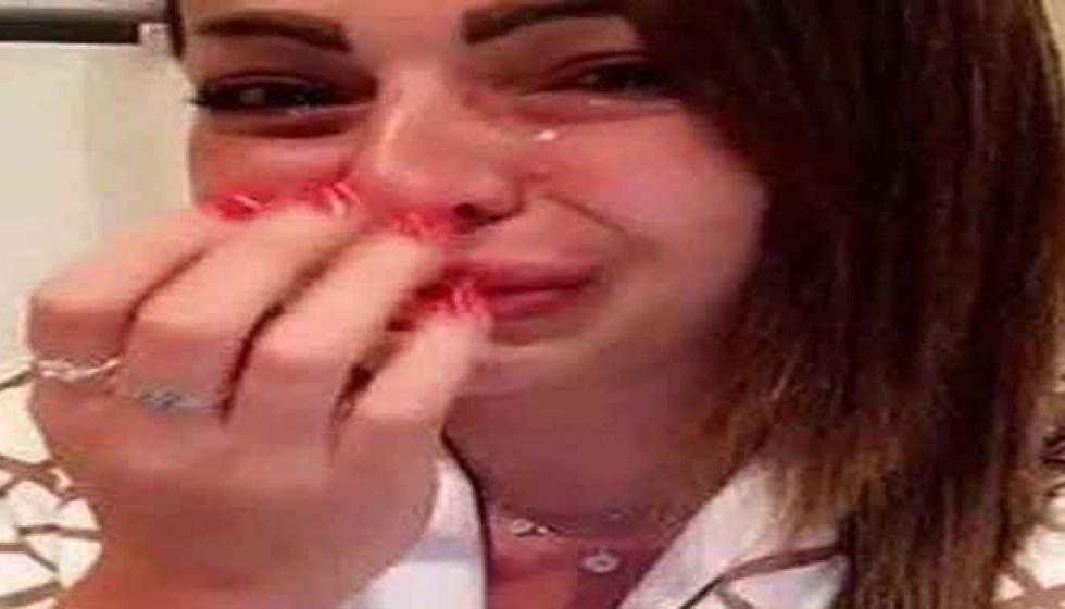 تسريب صورة لزين شقيقة ديانا كرازون من داخل السجن