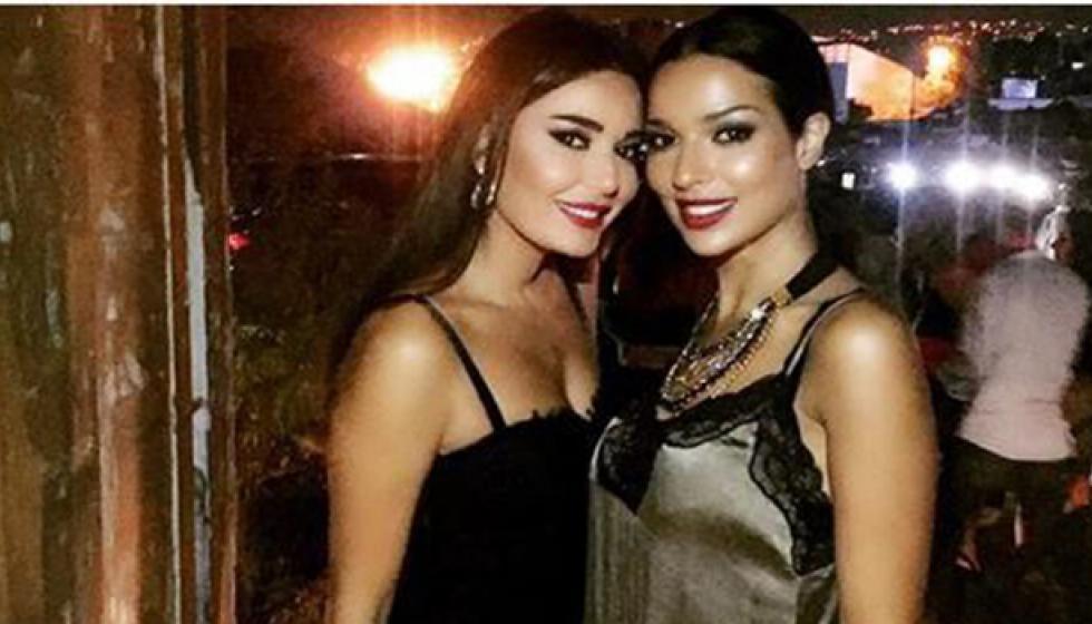 حرب طاحنة بين نادين نجيم وسيرين عبد النور