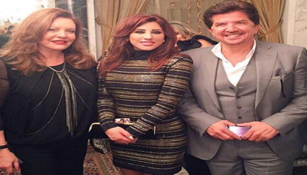ليلى الصلح حمادة تكرّم أهل الفن والإعلام
