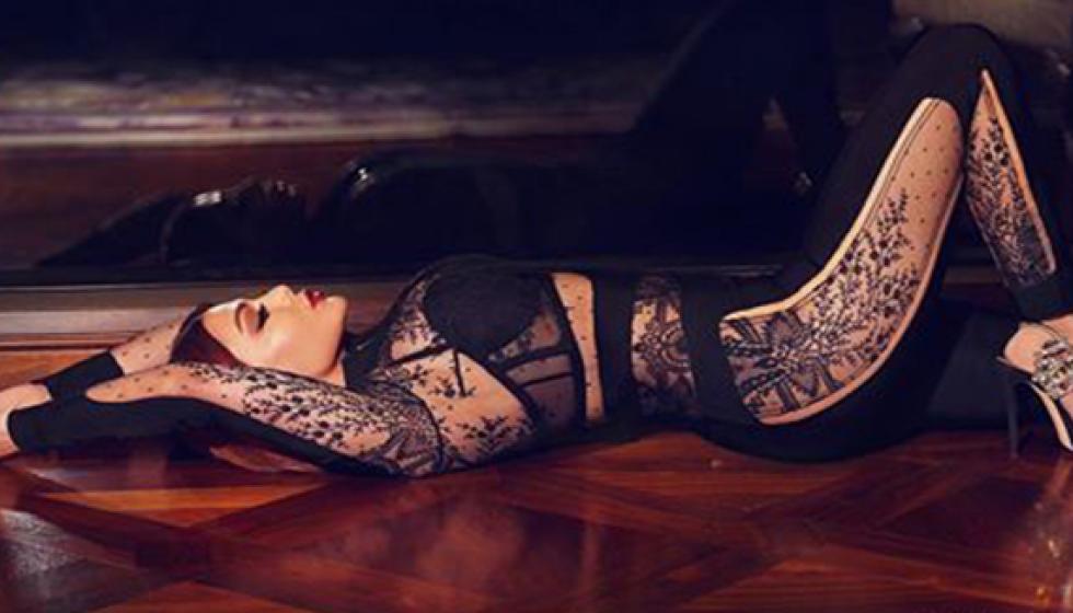 هيفاء وهبي ..وصورة من آخر جلسة تصوير لها