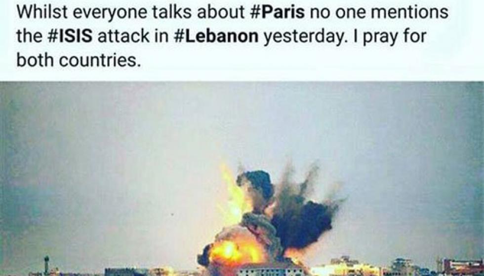 انجلينا جولي تصلي لأجل لبنان