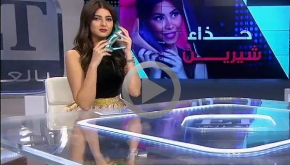 ماذا فعلت مذيعة مغربية على شاشة التلفزيون؟