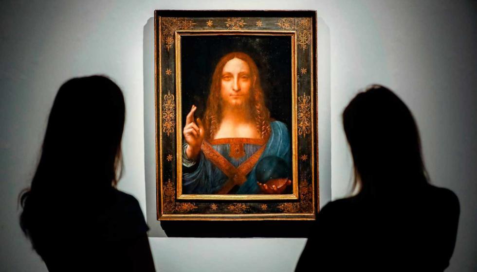 """""""مخلص العالم"""" اللوحة الأغلى في العالم ستعرض في أيلول في اللوفر أبو ظبي"""